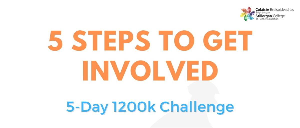 Join us from this Sunday 7th – Thursday 11th February in our 5 Day Activity Challenge.