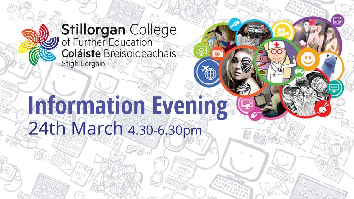 Thinking about course options for next year? Why not join us for our virtual Information Evening on Wednesday, 24 March from 4:30 - 6:30.