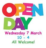 Open Day - 7 March 2018!