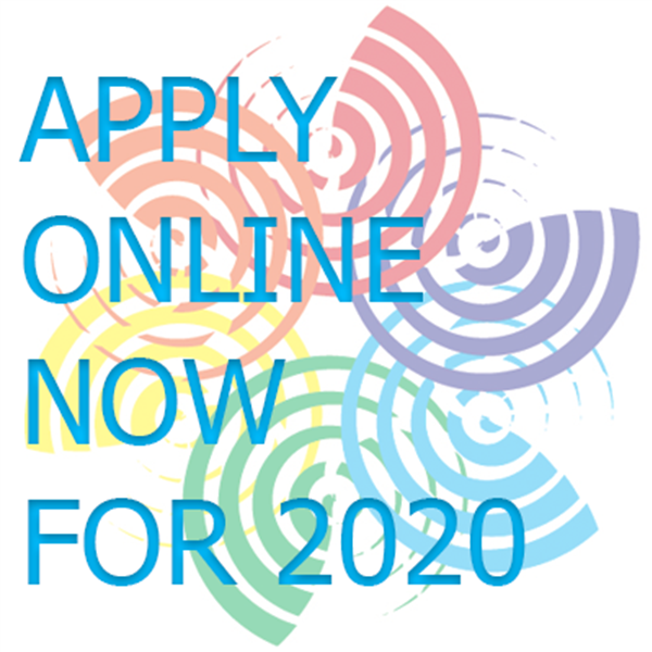 Applications for 2020 now open!
