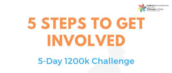 5 Day 1200km Activity Challenge in aid of Jigsaw